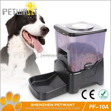 Electronic large pet feeder automatic pet dog cat feeder PF-10A shenzhen supplier