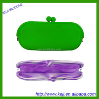 Silica gel glasses bag silicone mobile phone bag purse/Japan/silica Japanese glasses package/silica zero wallet