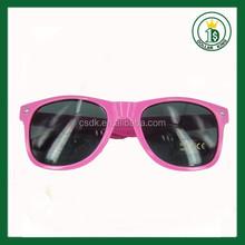 Factory custom gift funny sunglasses sun glasses/eyewear/frame printing logo OEM