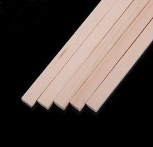 Natural Decorative Square wood strips Perfect for Paint, Stain, Crafts