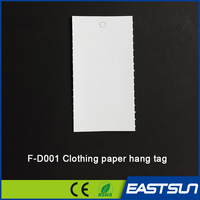 2015 High quality Custom paper clothing tags / clothing hang tags/Customized garment tags