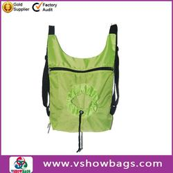newest styles cheap nylon foldable shopping bag made in China