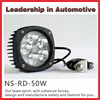 NSSC BEST PRICE New 50w led motorcycle light motorcycle led driving lights