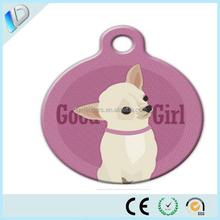 DIY cute pet tag custom qr code pet tag