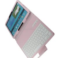 Shock Absorbing PU Leather Cover , Foldable PC Tablet Cases for samsung p 900