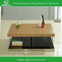 Luxury Glass Tea Table Coffee Table For Living Room
