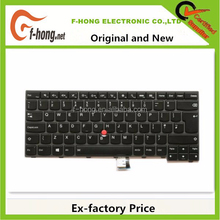 Genuine Original New UK keyboard for IBM Lenovo Thinkpad T440 backlit keyboard UK Layout 00HW866 04X0168 04X0130