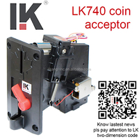 LK740 Hot selling vending machine coin acceptor