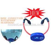 wireless waterproof bone conduction headset, bone conduction transducer