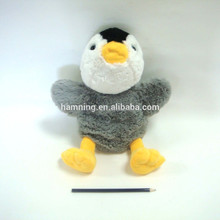 Fahionable Soft Baby Plush Grey Bird Toys Stuffed Bird Doll