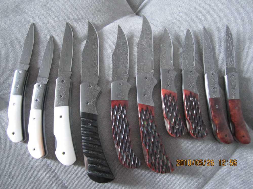 Damascus Steel Blanks For Sale Damascus Steel Knife Blanks