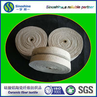 refractory fireproof insulation textile ceramic fiber tape for furnace and kiln