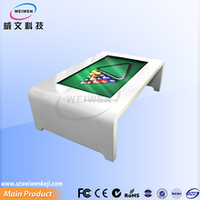modern design! 46inch led touch screen indoor electronic windows games table with network
