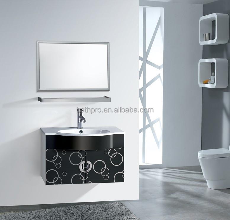 Sgs garanzia nero pittura in acciaio inox mobiletto del - Mobiletto del bagno ...
