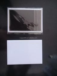 Hot selling printable blank sublimation fridge magnet