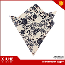 Wholesale popular classic 100% cotton soft handkerchief