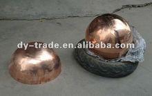 alert hollow copper /brass ball
