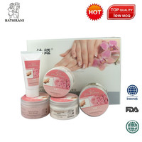 BATHRANI Rose Gift Sets Specialized Care Sets By 5 Products For Hands & Nails - Hand Care Nail Care Collections