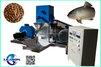 DGP80-B 22kw floating fish feed extruder machine for tilapia
