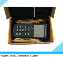thermocouple rs232 data logger and industrial digital thermocouple thermometer JNDA82II for thermocouple S/K/J/T/E/N/Pt100