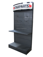 metal shelves tray painting exhibition stand