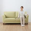 cama convertible do sofa do canto do couro da cama do sofa
