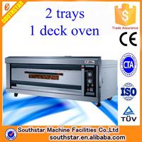 100% manufacturer wholesale commercial bread machine gas deck oven