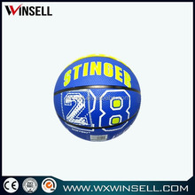 logo imprinted mini basket ball