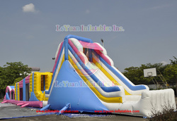 custom inflatable obstacle course, obstacle course inflatable,kids obstacle course equipment LY-OB104
