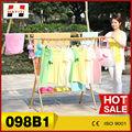 heavy duty retráctil plegable balcón tendedero de ropa 098b1