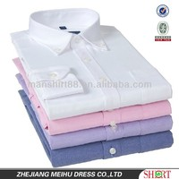 Custom design multi colored high quality oxford fabric mens dress shirts