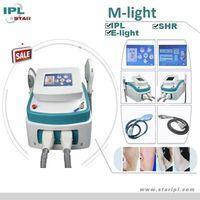 Multi Functions IPL Beauty Equipment SHR IPL Derma Roller Beauty Products IPL E-light machine for sale