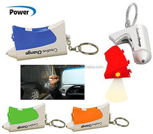 Multi-functional car safety hammer, LED lighting,seat belt cutterYC669