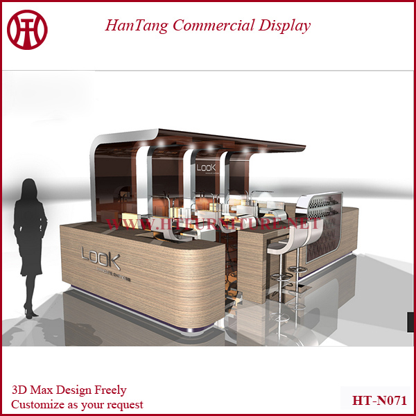 2014 Customize Manicure Table Nail Salon Kiosk Design Bar Furniture With Led Lights View