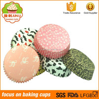 Many Designs Choosed PET Film Plastic Packaging For Cupcakes