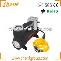 Heavy duty metal car air compressor