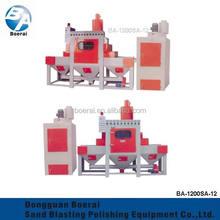 transmission sandblasting machine suitable for wood,steel,stone sandblasting