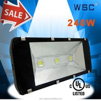 high quality UL driver bridgelux 240w led flood light 240w