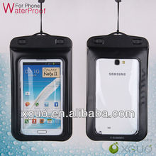 phone Underwater Dry BAG Waterproof Skin Cover Case for Samsung Galaxy Note 2