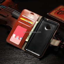 Flip Wallet Photo Frame PU Leather Case For NOKIA Lumia N535 With Stand Card Holder Phone Bag Case