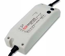 Meanwell HLN-60H Series 60W Single Output Switching Power Supply HLN-60H-30 30V HLN-60H-30A HLN-60H-30B plastic case with PFC