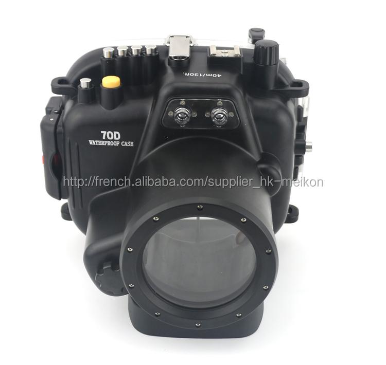 Meikon Imperméable Housses de Protection pour Canon 70D