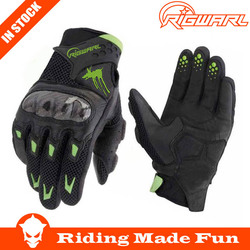 Hot Sale !! Protective Black Leather Motorcycle Racing Gloves For Outdoor Sports With OEM Service