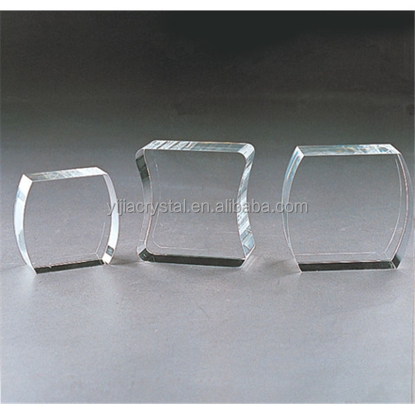 Customized wholesale glass block crystal small glass block for Wholesale glass blocks for crafts