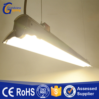 Hot sale 1135mm 44w office hanging led batten light with CE Rohs certificate