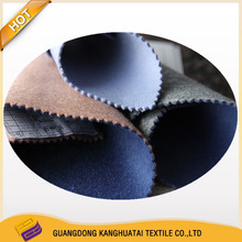 two color two side high quality finished wool fabric,95%Wool 5% Nylon