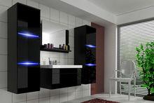 Bathroom wall unit Bathroom Furniture Luna with Washbasin LED
