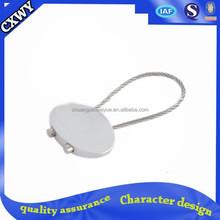 silver lock keychain blanks