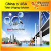 20ft/40ft container freight rates from china to USA