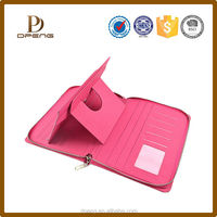 2015 Premium Fashion Leather Wallet Tablet Case for New iPad Smart Cover